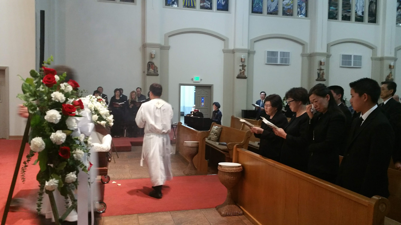 김정탁 요셉 형제님 선종 - 연도및 장례안내