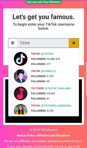 TikFans : Free  Followers & Likes 7.1 screenshots 2