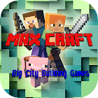 MaxCraft: Big City Building Games icon