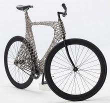 3D-печатная рама велосипеда из нержавеющей стали