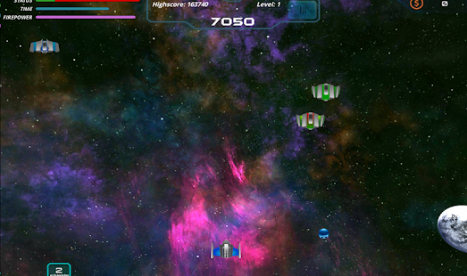 [Download Discharge - space shooter for PC] Screenshot 2