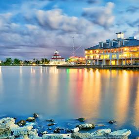 Return to Silver Shore by Shaun Poston - Landscapes Waterscapes ( shaun poston, new orleans, waterscape, marina, seascape, lakefront )
