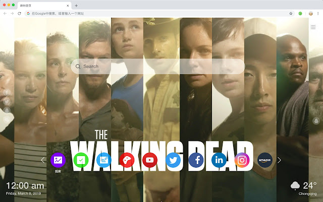 The Walking Dead Movies New Tab HD Themes