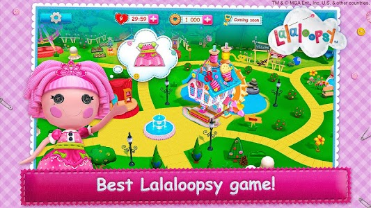 Lalaloopsy 3D Land v1.2.0 (Mod Money/Lives)