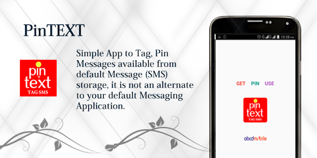 PinTEXT (Pin TEXT - Tag SMS)- screenshot thumbnail