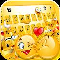 Love Emoji Party Keyboard Theme icon
