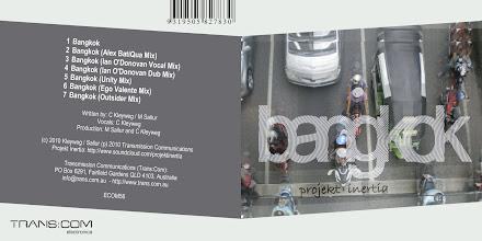 Photo: Master Artwork: ECOM56, Projekt Inertia - Bangkok, released August 2010. Design by Dennis Remmer.