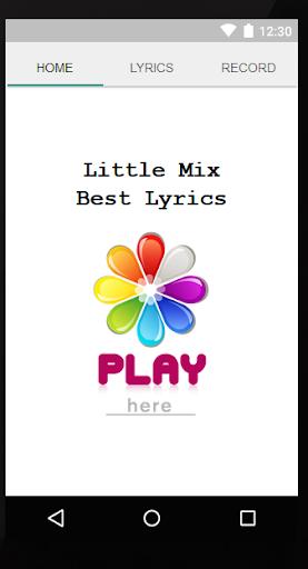 Little Mix Songs Lyrics