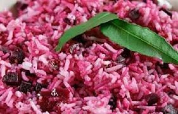 Beets And  Spicy Rice Recipe