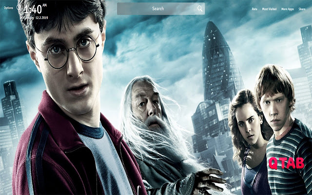 Harry Potter Movie Wallpapers Theme New Tab