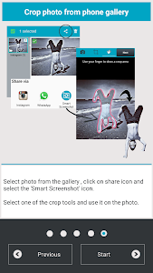 Smart Screenshot - cut & share v1.1 (Pro)