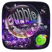 Bubble GO Keyboard Theme
