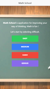 Math School- screenshot thumbnail