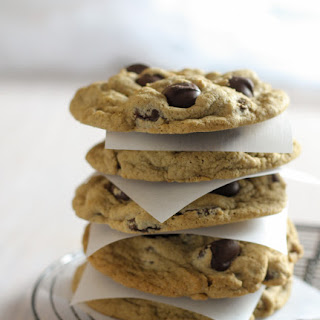 Cappuccino Chocolate Chip Cookies.