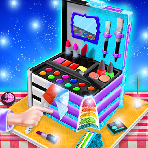 Princess Cosmetics Box Cake Maker! Cooking Game (game)