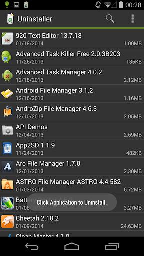 Uninstaller 1.5.8 Screenshots 1