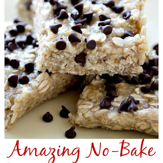 Amazing No-Bake Sesame Vanilla Oat Bars.