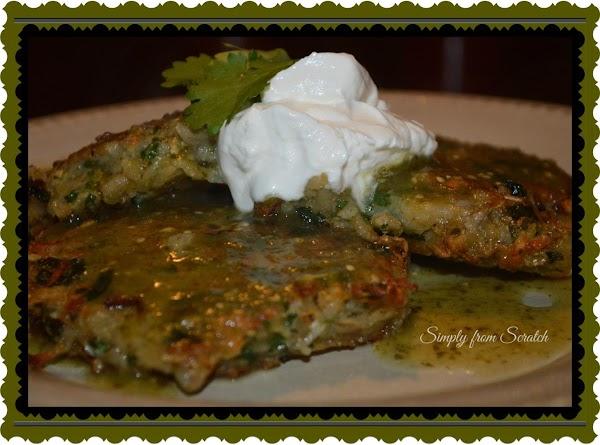 Mexican Potato Pancakes Recipe