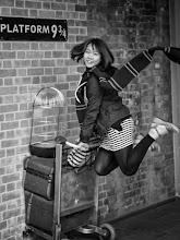 Photo: London #18 - Harry Potter Platform 9 3/4...  #street #streetphotography #shootthestreet  #blackandwhite #blackandwhitephotography #bw #monochrome #london