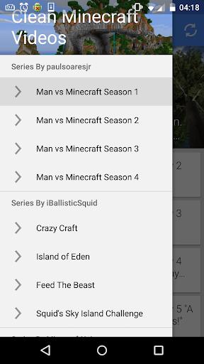 Clean Minecraft Videos