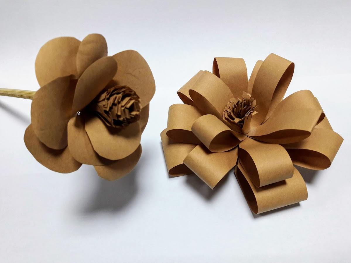 Fake Beautiful Flower - Recycling Envelopes