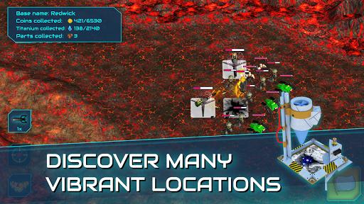 Boulder Base - Futuristic Castle Defense  screenshots 8