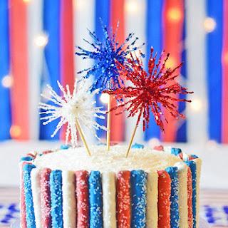 4th of July Sparkler Cake!