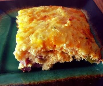Ham, Egg, Cheese & Hashbrown Casserole Recipe