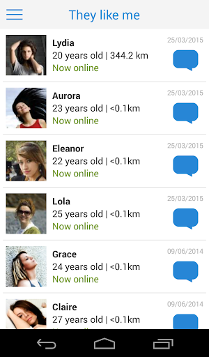 Meet-me: Dating, chat, romance 5.0.28 Screenshots 4