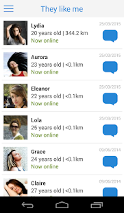 Meet-me: Dating, chat, romance- screenshot thumbnail