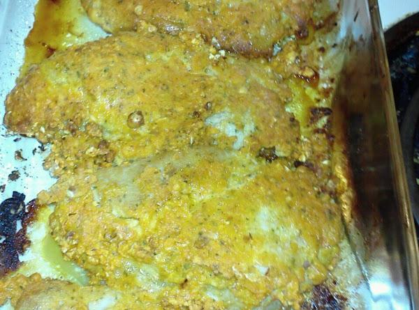 Cheese Popcorn Coated Pork Chops Recipe