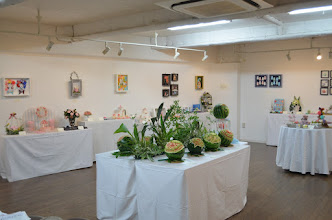 Photo: Carving Studio S作品展2015 果物と石けんの彫刻教室の、生徒と講師の作品約60点をご紹介いたします。