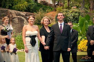 Photo: Wedding Ceremony Officiant Minister - Rock Quarry Garden - Greenville, SC - http://WeddingWoman.net