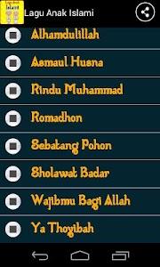 Lagu Anak Muslim screenshot 2