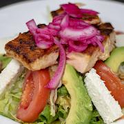Taco Salad - Salmon