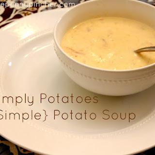 Simply Potatoes Potato Soup.