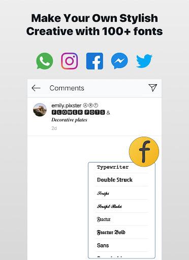 Font Changer - Cool Fonts Keyboard, Stylish Text 6.1 screenshots 9