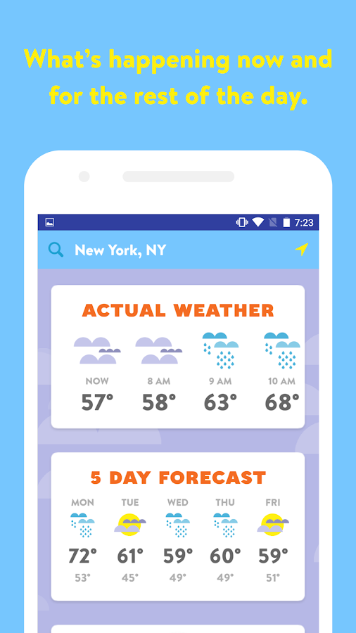 Poncho: Wake Up Weather- screenshot