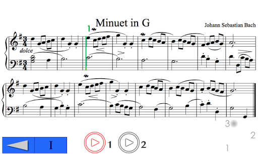 Music Sight Reading Bach PRO