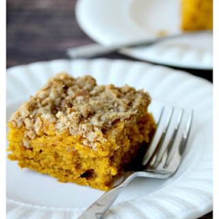 Pumpkin Pie Spiced Coffee Cake
