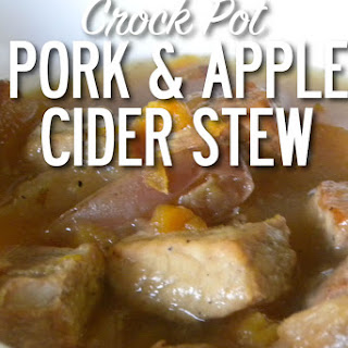 Pork & Apple Cider Stew