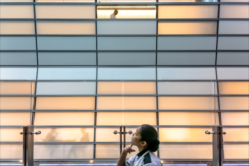 Airport glass window di alberto raffaeli