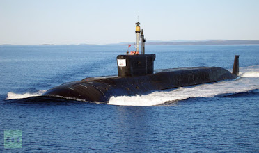 "Photo: 814151 09/22/2009 Nuclear submarine (NS) ""Yuri Dolgoruky"" undergoing sea trials./Пресс-служба ОАО ""ПО ""Севмаш"""