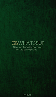 GBWhatssAp multi account 2018 - náhled