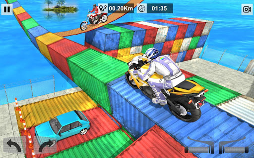 Bike Stunt Mega Tracks: Sky Ramp 1.0 screenshots 5
