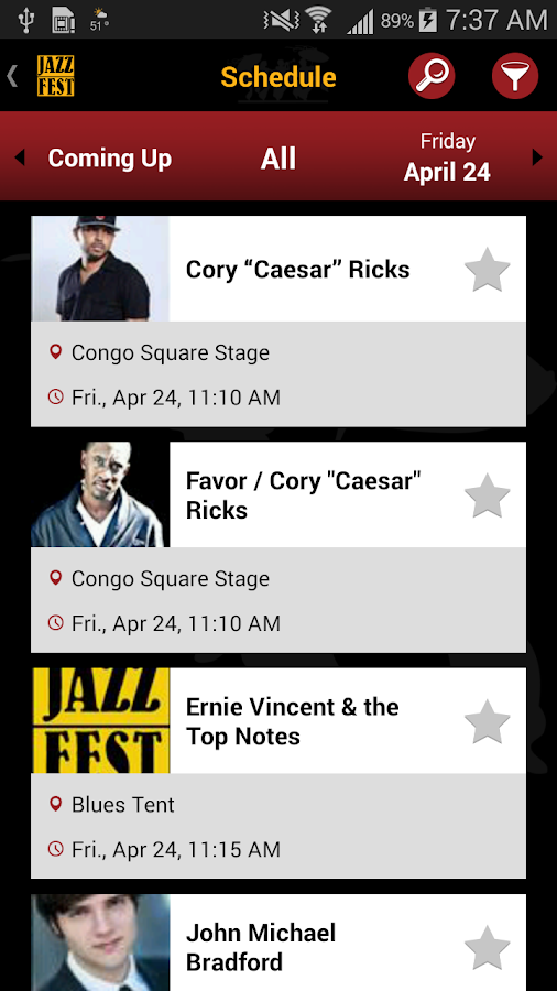 New Orleans Jazz Festival- screenshot