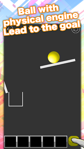 easy physics puzzle ball doon! for PC