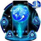 3D Tech Earthテーマランチャー icon