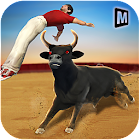 Angry Bull Attack Simulator 2019 icon