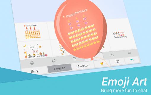 TouchPal Keyboard - Cute Emoji screenshot 11